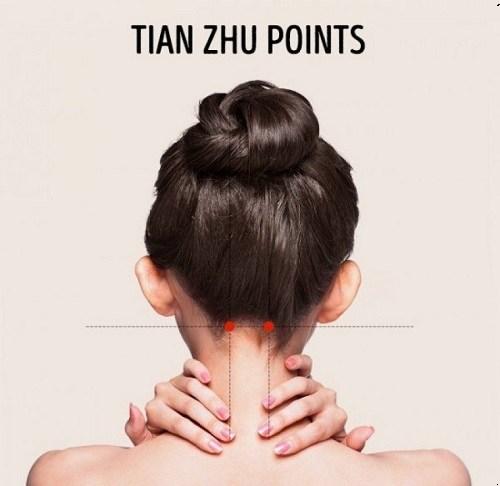 headaches, acupressure, pressure points