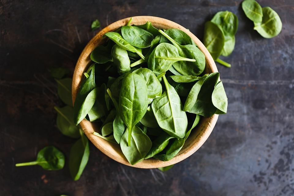 spinach, magnesium, magnesium deficiency